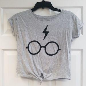 Harry Potter Tie Front Shirt